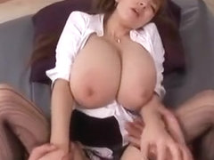 Ai Sayama Japanese babe with big boobs Part 02