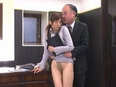 Yuma Asami engages in wild office sex with no limits