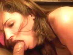 Dutch tattooed whore sucks cock