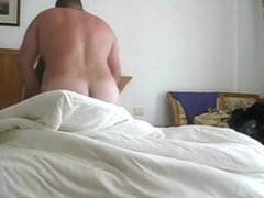 Couple Having Sex Session in Hotel Room