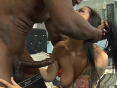 Hottest pornstars Wesley Pipes, Katrina Jade in Fabulous Interracial, MILF sex scene