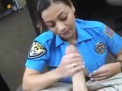 Big Titty Hot Cop Sucking Dick In Back Of A Pawn Shop