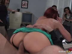 ZZ Series: The Whore of Wall Street Ep-2: The Anal Office Queen. Monique Alexander, Mick Blue