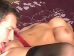 Tight Cougar Sucks Dick Gets Licked
