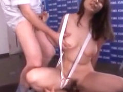 Amazing Japanese chick Yuma Asami in Best Public, Gangbang JAV video
