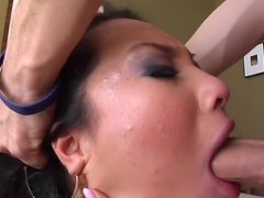 Fabulous pornstar Asa Akira in amazing swallow, cumshots adult video