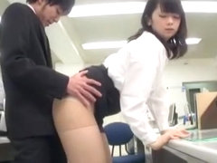 Crazy Japanese girl Aiko Hirose, Kotone Amamiya in Incredible Handjobs, Secretary JAV video