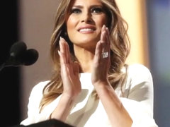 Melania Trump Jerk Off Challenge