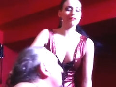 Mistress I.S hard face slapping