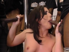 Babe Takes Huge Cocks