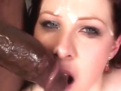 very pity curvy redhead sucking cock until facial pity, that