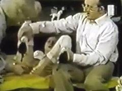 seks met een naakt meisje