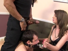 Horny HotWife Alana Rains Gets Fucked By BBC In Front Of Her Cuckold
