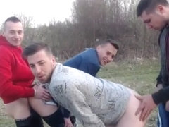 Gorgeous boys outdoor fuck 1st time on cam