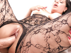 Cristal Caraballo in Passion and Lace - PureMature
