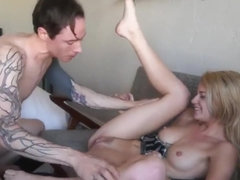 Arya Fae Gets Licked and Gets Pounded the way she likes it