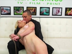 Blonde Amateur First Time Audition