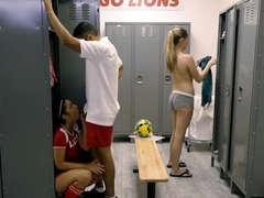 Hot Ass Teen Pounded By Her Pervert Coach In Locker Room
