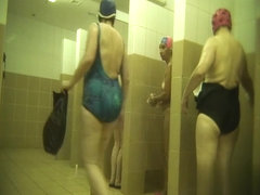 Hidden cameras in public pool showers 741