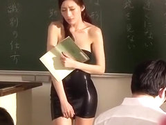 Exotic Japanese slut Julia in Crazy Cougar, Lingerie JAV movie