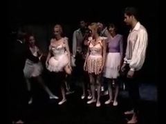 Vintage Ballerina Group Sex