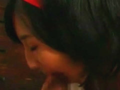 Exotic Japanese model Anna Kiuchi in Hottest Cunnilingus, Couple JAV clip