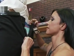 Tugjob sex video featuring Keiran Lee and Jewels Jade