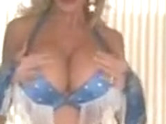 Silicone Tit Lady Dancing