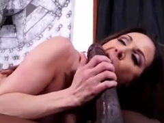 Godly experienced woman Kendra Lust gives a magic blowjob