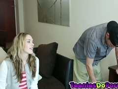 The Cable Guy Gets Lucky with  Briana Oshea
