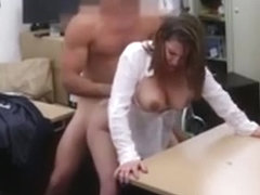 Hairdresser Blowjob Foxy Business Lady Gets Fucked!