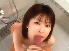 Ruru Amakawa young Japanese blowjob