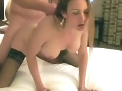 The Wife Loves The Strangers Cock In Her Pussy