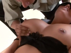 Crazy pornstar Bobbi Starr in horny facial, cunnilingus xxx movie