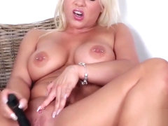 Celina Davis Hot dildo action! Helpful neighbours Part1