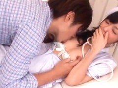 Aino Kishi Japanese nurse shows off her part4