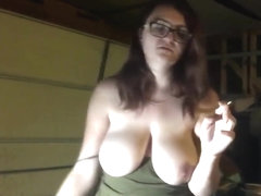 She's Begging For Her Big Tits To Be Sucked