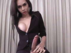 Horny adult video transvestite Solo Trans ever seen