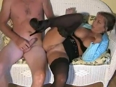 Amber Lynn Bach receives her vagina licked and drilled so hard!