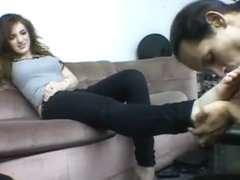 FemmeFatale Jenna Foot Worship Blackmail