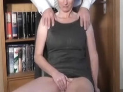 are alluring babe orgasms while machine fucked something is. Now all