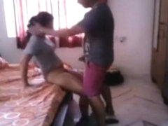 My hot indian cousin Sakshi Dubey fucked by her boyfriend in hostel room