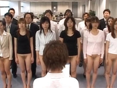 Free jav of Half nude Japanese chicks part2
