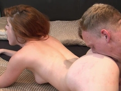 Incredible pornstars Luke Hardy, Amarna Miller in Amazing Redhead, Cumshots adult video