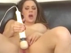 Chanel Preston puts her body on display and takes care of her desires