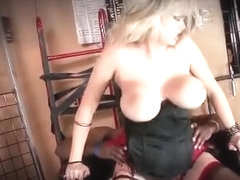 Dirty big boobs blond babe gets to fuck part3