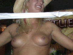 Short and Sweet Tittie Contest Key West at a Local Bar - SouthBeachCoeds