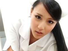 Hot Nurse Ren Azumi Fucked By Patient - JapanHDV