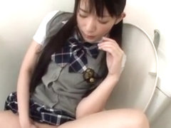 Hottest Japanese chick Akie Harada in Crazy Masturbation JAV video