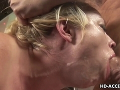 Deepthroat pro Adrianna Nicole most good oral-stimulation ever!